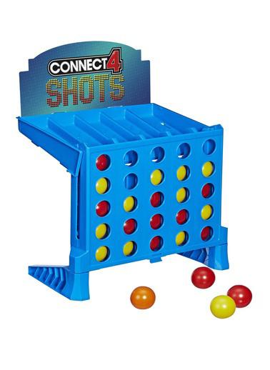 Hasbro Hasbro Connect 4 Shots Kutu Oyunu Renkli